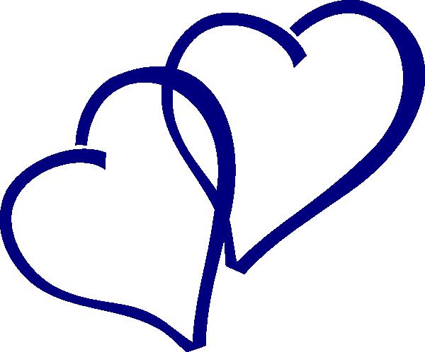 Clip art at clker. Blue hearts png