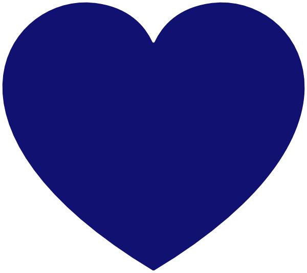 Heart clip art at. Blue hearts png