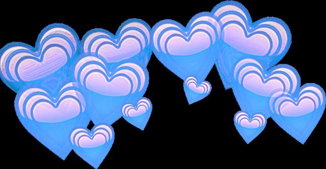 Edit overlay corazones report. Hearts png tumblr
