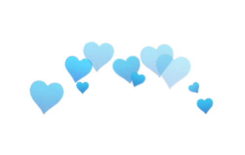 Blue hearts png. Image animal jam clans