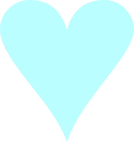 Blue hearts png. Heart