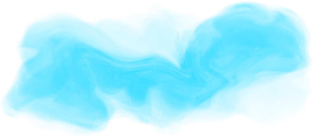 Turquoise image transparent arts. Blue smoke png