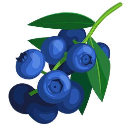 Blueberry clipart clip art. Blueberries paradise bay wikia