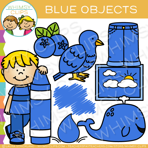 Blueberries clipart blue object. Color objects clip art