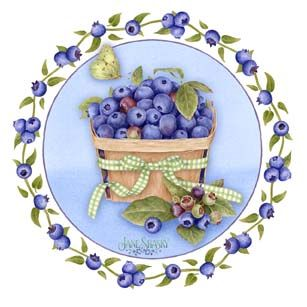 Jane shasky pinterest decoupage. Blueberry clipart blueberry basket