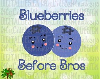 Clip art etsy svg. Blueberries clipart blueberry plant