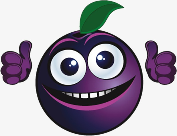 Smiling personification smile png. Blueberries clipart cartoon