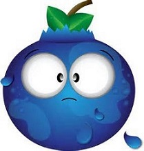 Free blueberry. Blueberries clipart cartoon