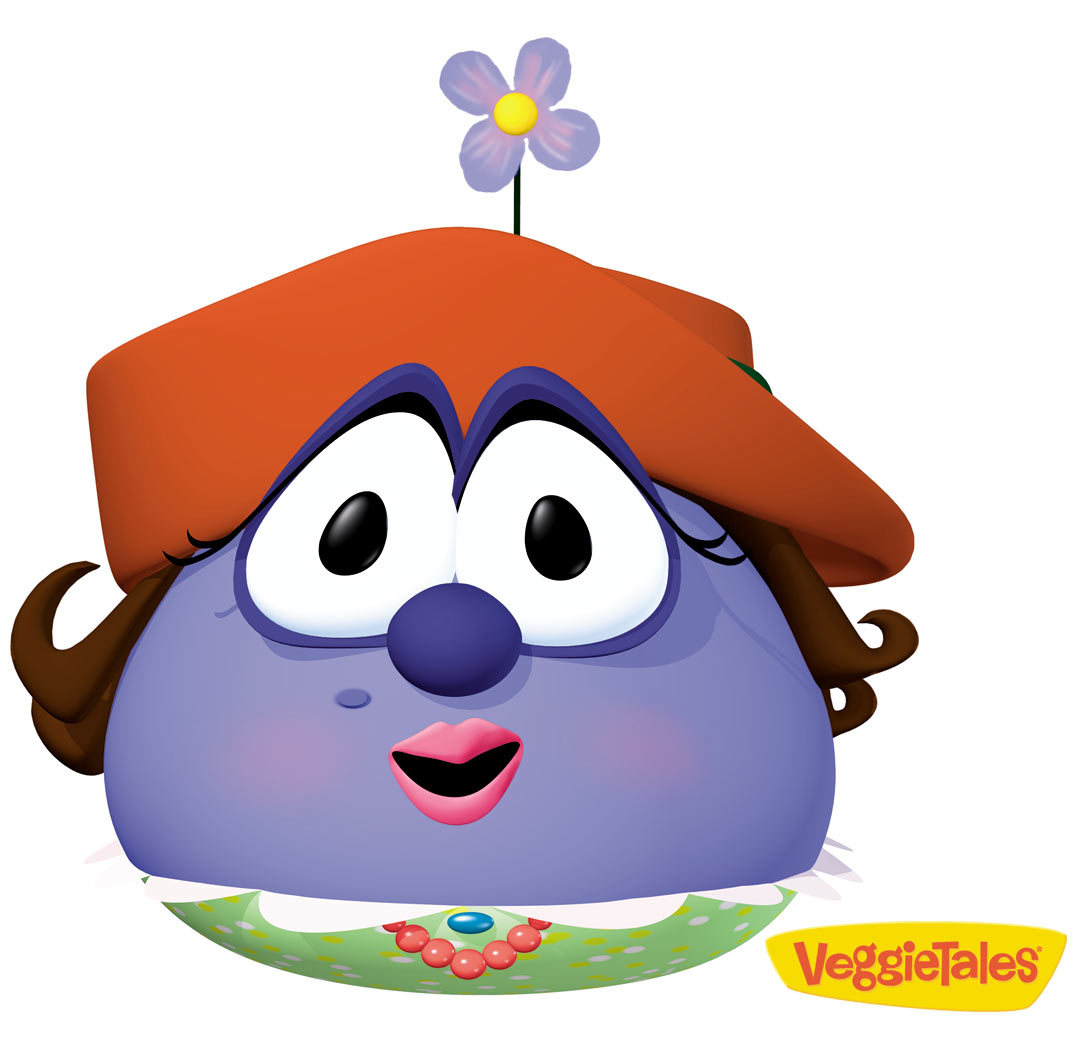 Blueberries clipart character. The blueberry family veggietales