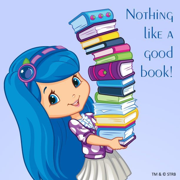 Blueberry clipart character. And her books especially