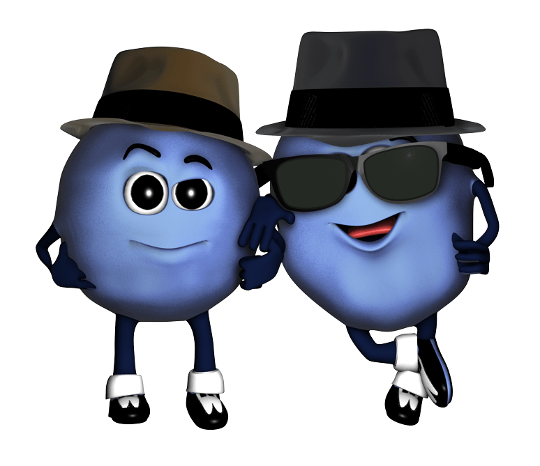 Florida clipart character. Blueberry festival characters rambler