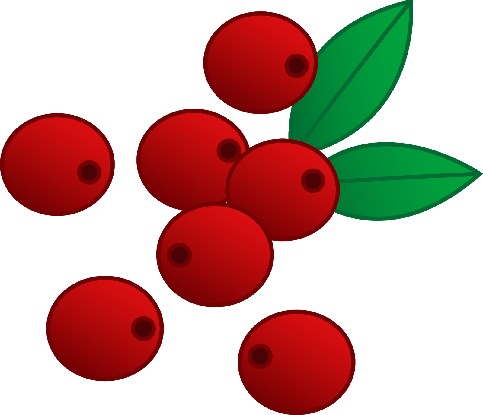 Holly clipart cranberry. Panda free images cranberryclipart