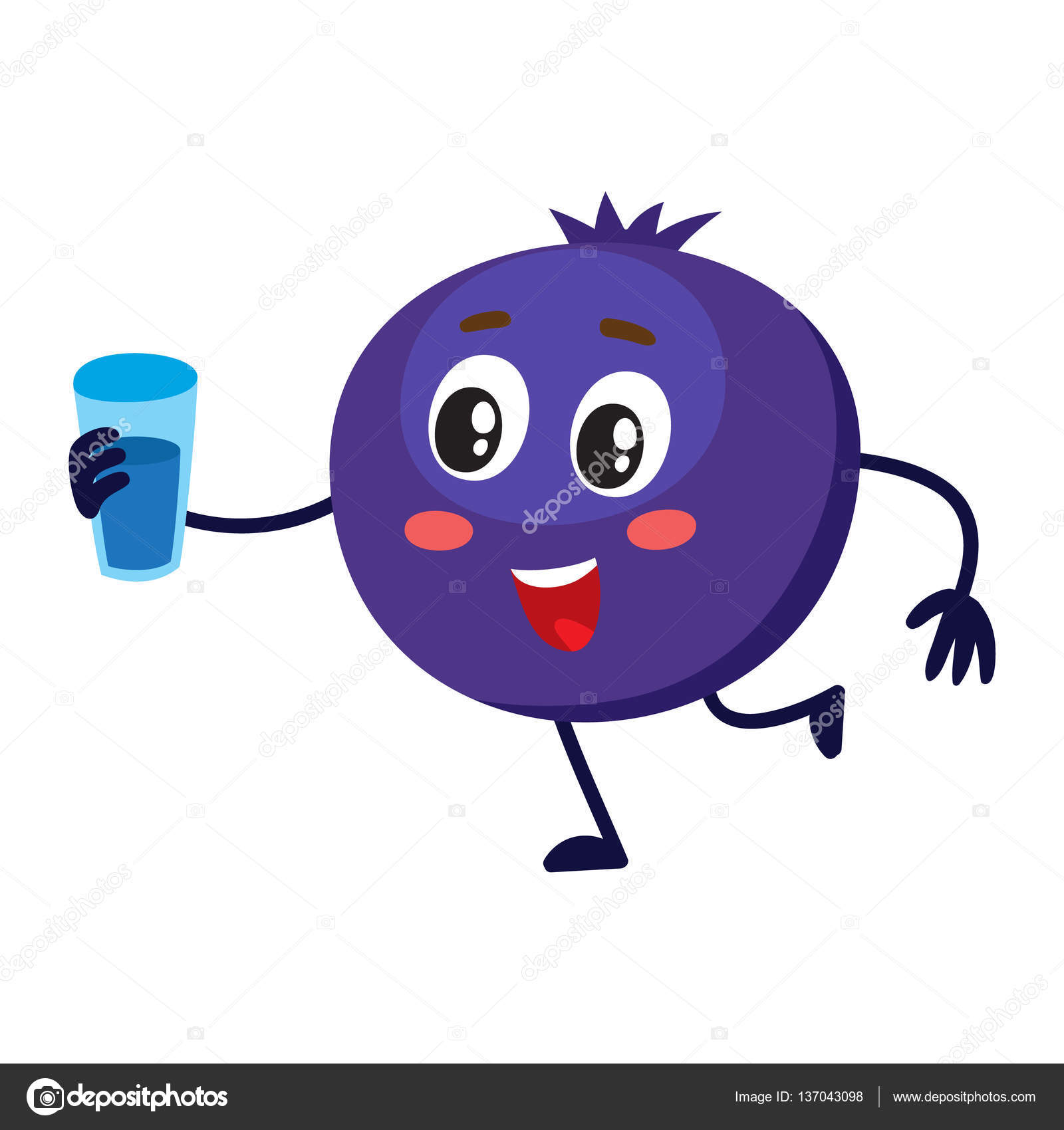 Blueberry muffin smile and. Blueberries clipart cute