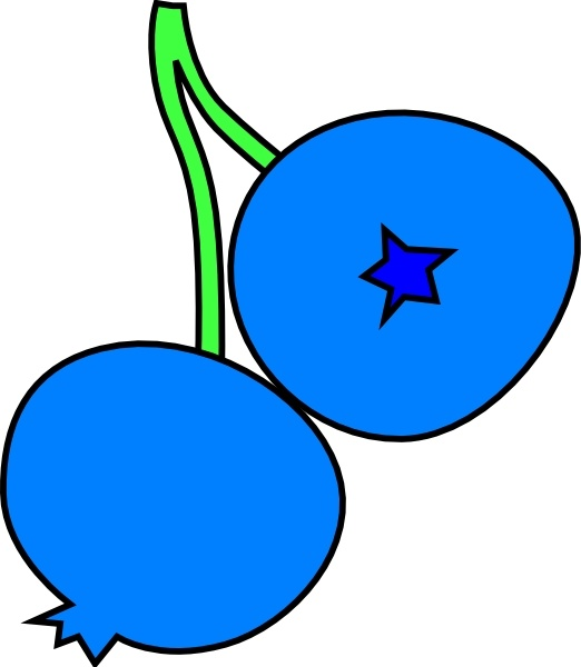 Blueberry clipart drawn. Blueberries clip art free