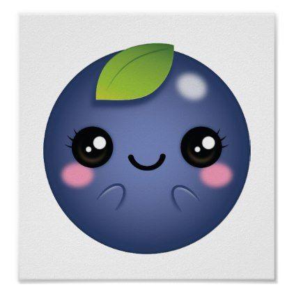 Blueberries clipart emoji. Pinterest