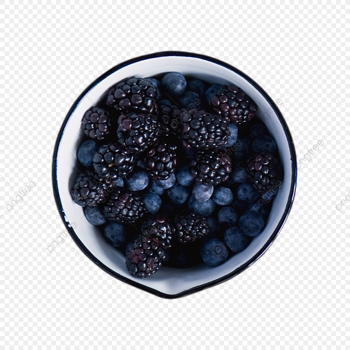 Blueberries clipart one blueberry. In a bowl png