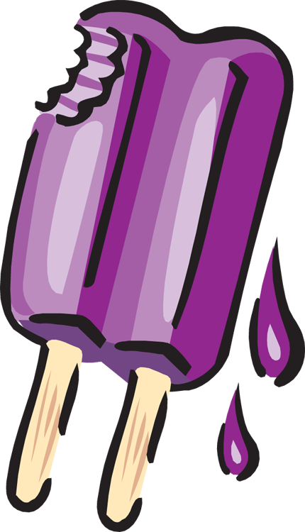 Blueberry clipart popsicle. Pencil and in color