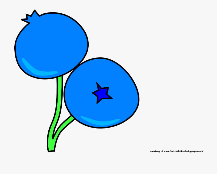 Blueberry free cliparts on. Blueberries clipart single