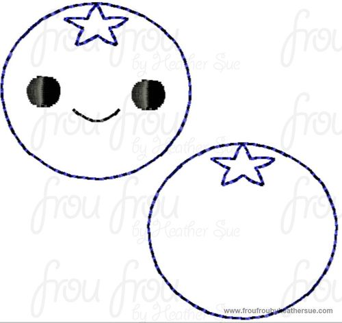 Blueberries clipart smiley face. Clippie blueberry with and