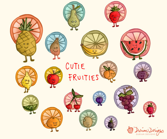 Cute fruits commercial use. Blueberry clipart smiley face