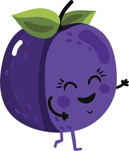 Blueberry clipart adorable. Food tagged shinobi stickers