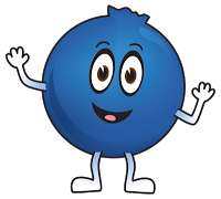 Cartoon images gallery for. Blueberry clipart animated