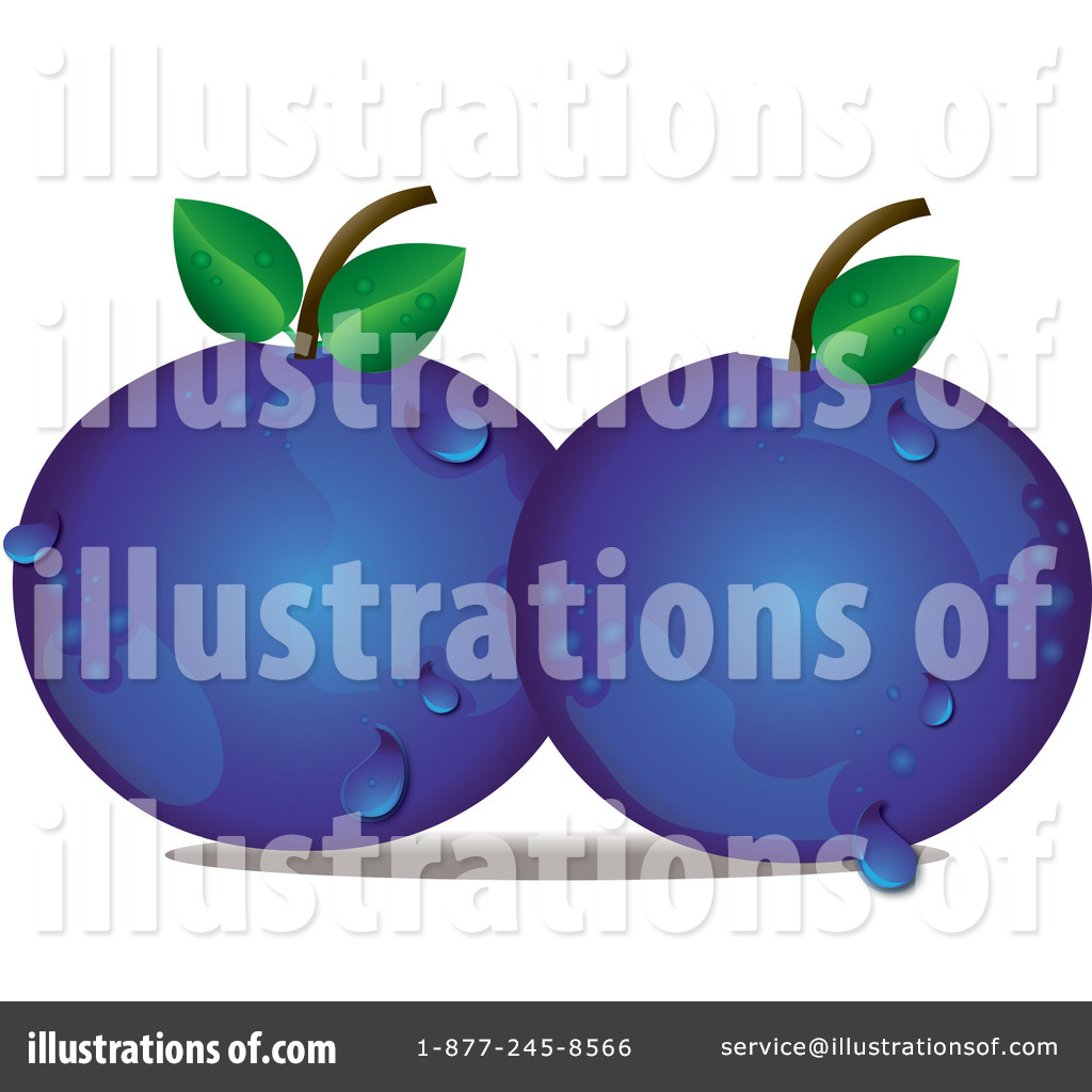 Blueberry clipart antioxidant. Illustration by pams royaltyfree