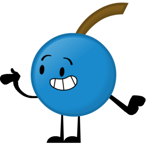 When objects work show. Blueberry clipart blue object