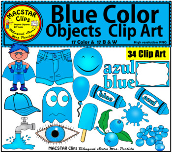 Blueberry clipart blue object. Color objects clip art