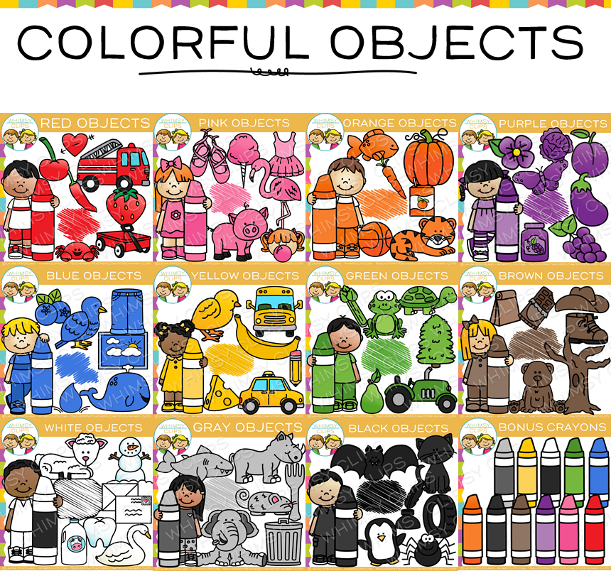 Objects in color clip. Blueberry clipart blue object