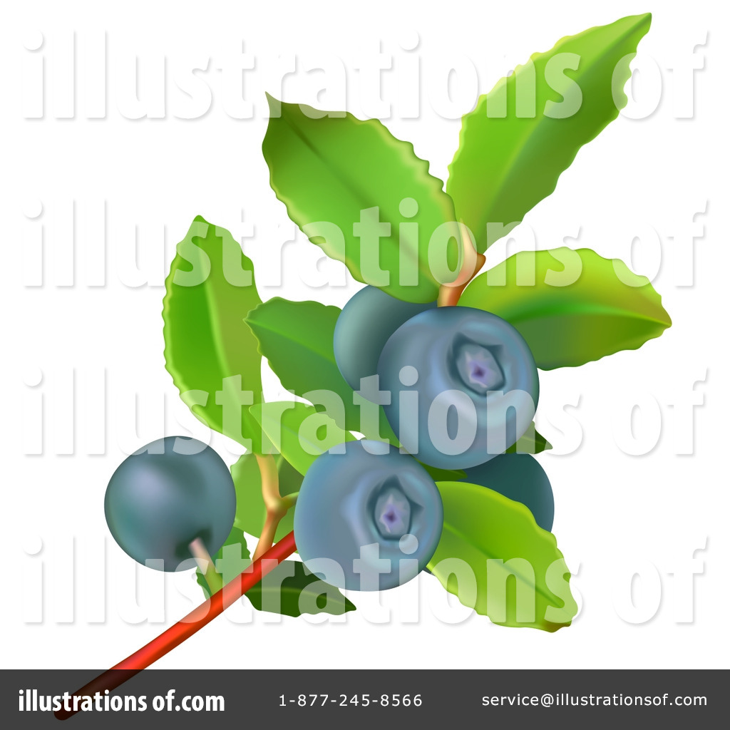Illustration by dero royaltyfree. Blueberry clipart blueberry basket