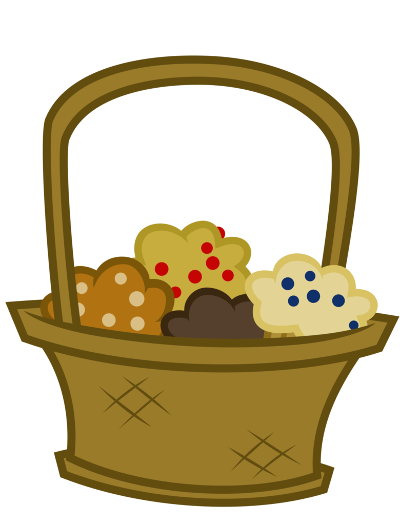 Mlp muffin by reitanna. Blueberry clipart blueberry basket