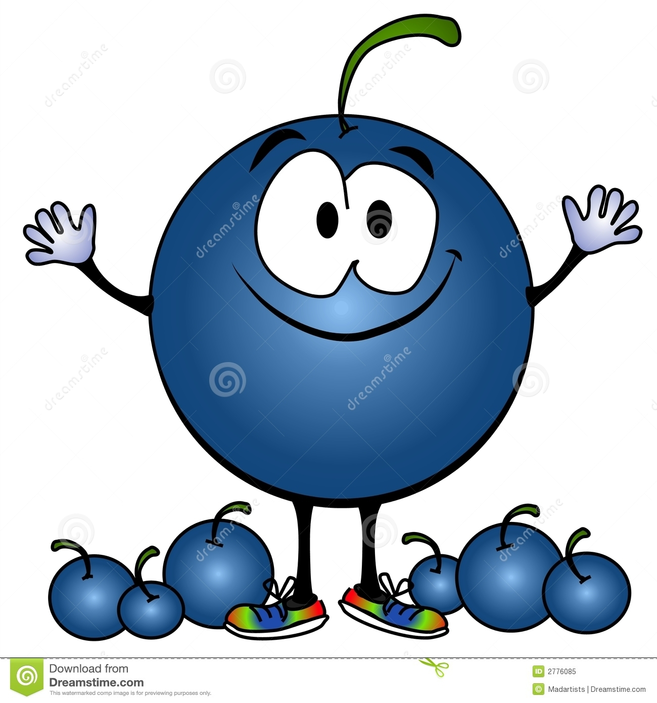 Fresh gallery digital collection. Blueberry clipart cartoon