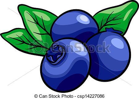 Blueberry clipart cartoon.  clipartlook