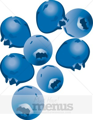 Blueberries clipart. Fruit