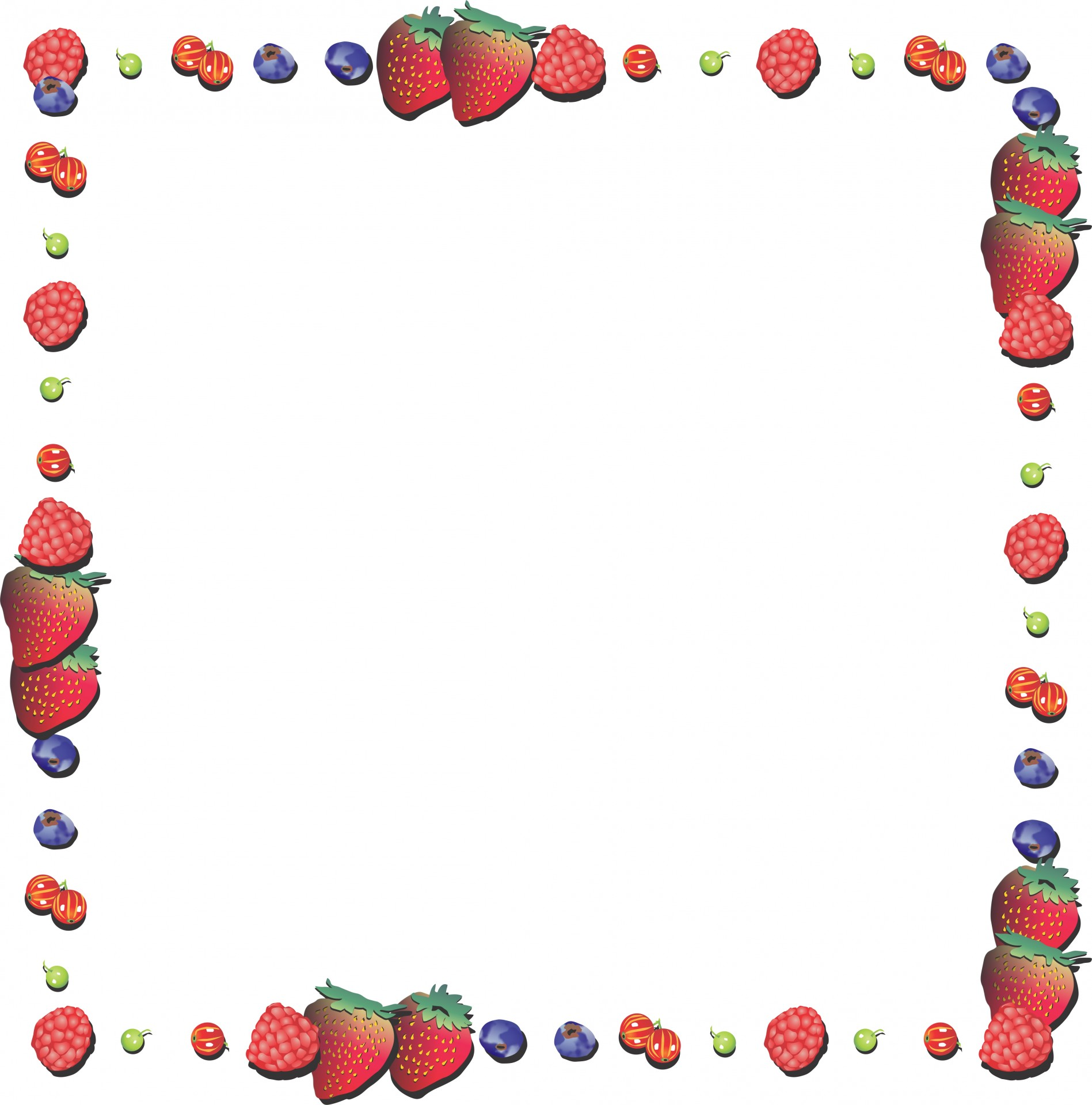 Blueberry clipart frame. Strawberry free stock photo