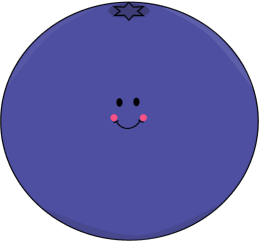 Blueberry clipart happy. Cute pencil and in