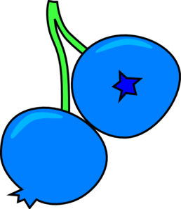 Clip art at clker. Blueberry clipart outline