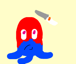 degree octopus vs. Blunt clipart blunt knife