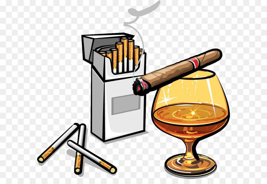 Alcohol cigarette stock photography. Blunt clipart cigar box