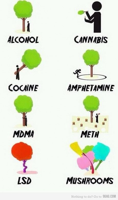 Psychedelic trippy shrooms lsd. Blunt clipart kush
