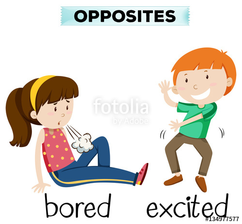 Opposite words for and. Blunt clipart sharp