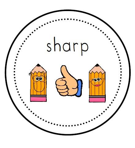 Pencil clip art library. Blunt clipart sharp