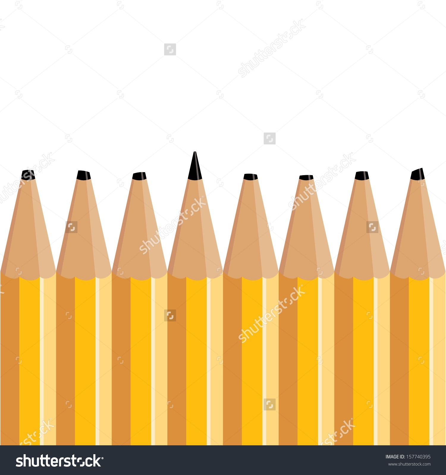 collection of pencil. Blunt clipart sharp