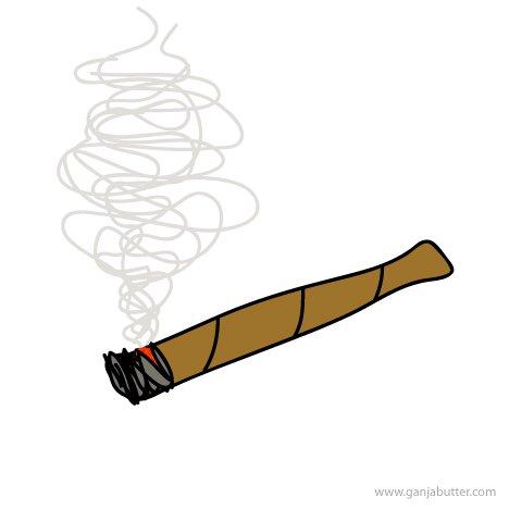 New cartoon smoking a. Blunt clipart smoke