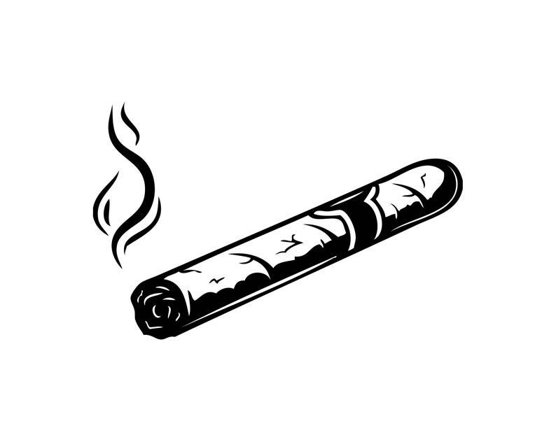 Blunt clipart smoke. Cigar burn smoking tobacco