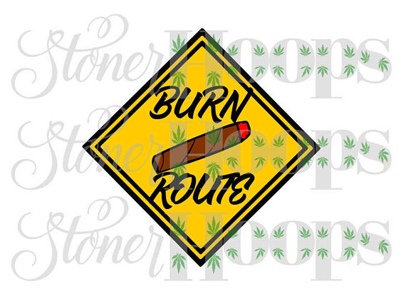 Blunt clipart svg. Weed stoner burn route