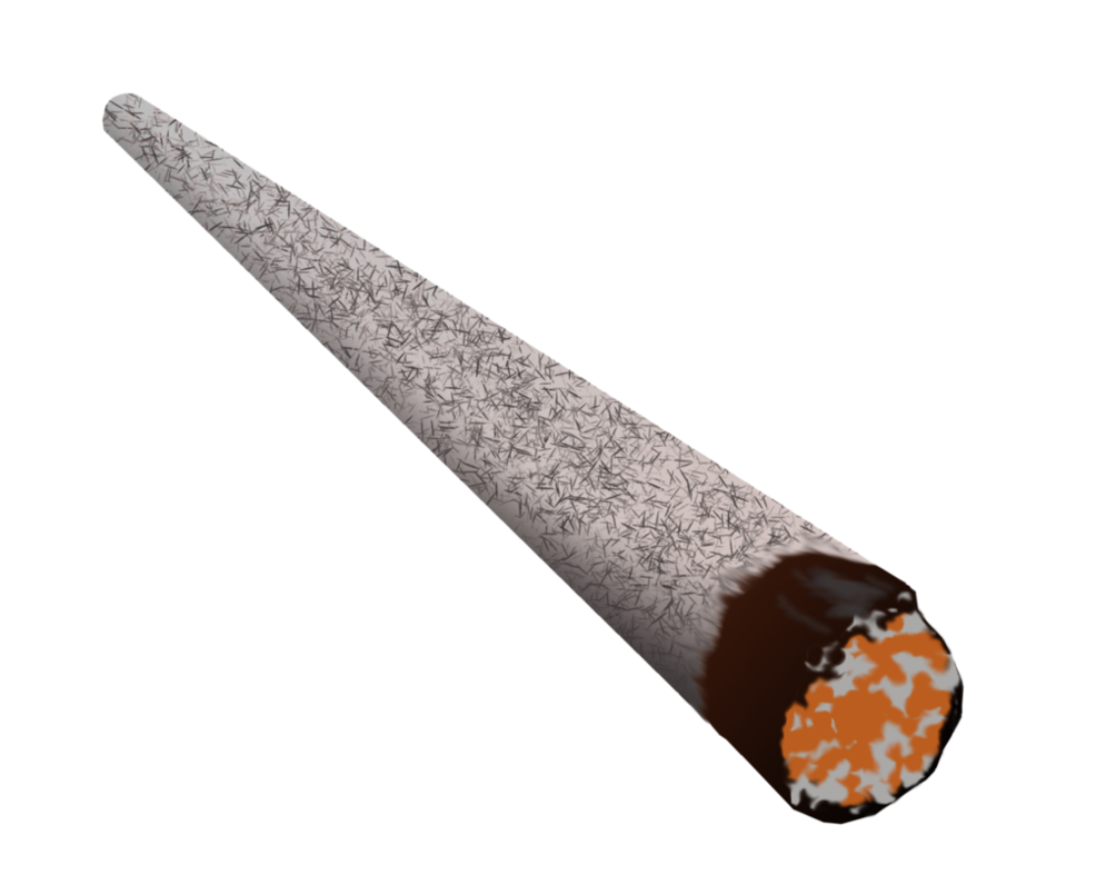 Cigar pencil and in. Blunt clipart transparent background