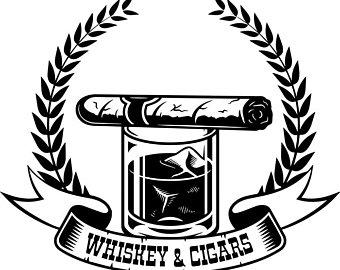 Blunt clipart vintage cigar. Smoking etsy logo tobacco