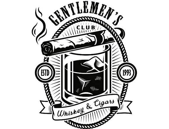 Logo smoker smoking smoke. Blunt clipart vintage cigar